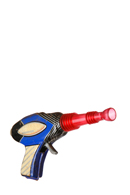 A toy gun, signifying target marketing.