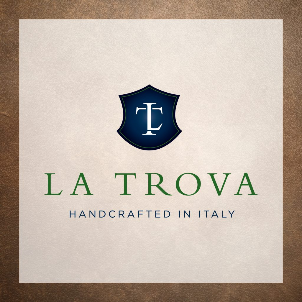 La Trova Italian Leather Goods - Company Name & Logo