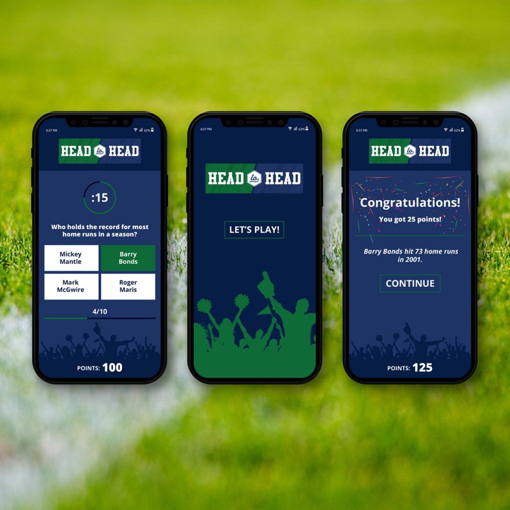 Sideline Sports - App Design