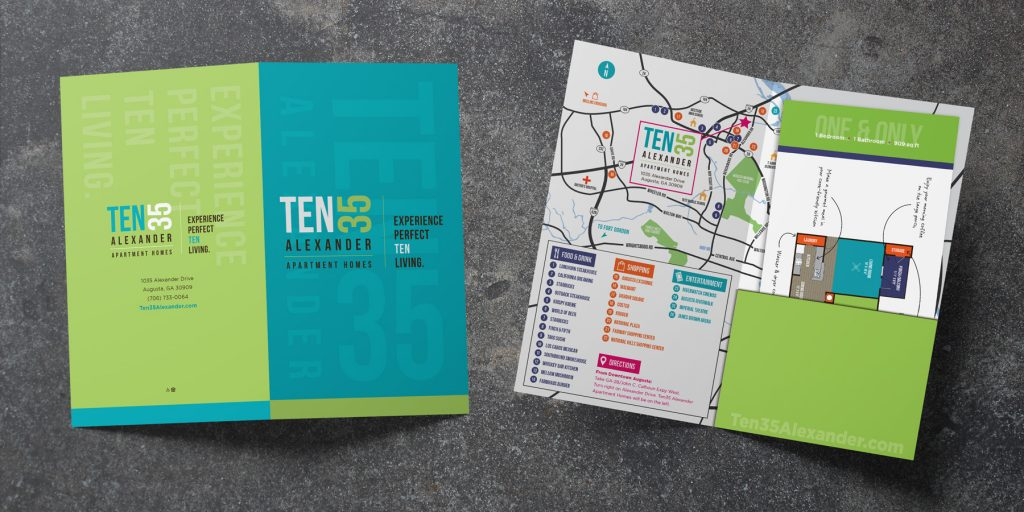 Ten35 Alexander Apartment Homes - Branding Package